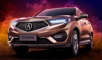 В Пекине представили новый кроссовер Acura CDX