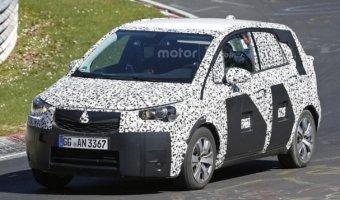 Новый Opel Meriva замечен на тестах в Нюрбургринге
