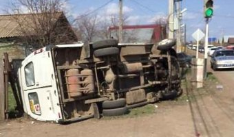 В Бузулуке в ДТП с «Газелью» пострадали девять человек