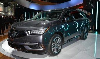 Acura презентовали обновленный кроссовер MDX