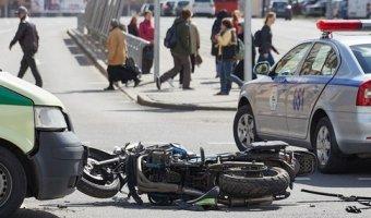 Мотоциклист, покалечивший инспектора ГАИ в Минске, семь раз был лишен прав