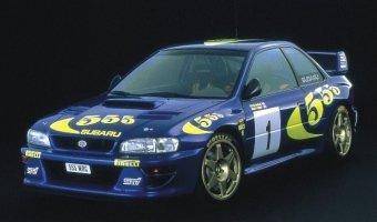 Гоночный автомобиль Subaru Impreza WRC выставлен на продажу в Германии