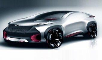 Chery покажут концепт купе FV2030 в Пекине