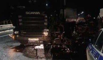 На М-7 в ДТП с грузовиком погиб водитель ВАЗа