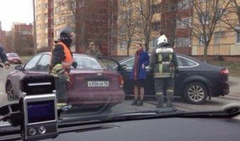 В ДТП в Петергофе пострадала 8-летняя девочка
