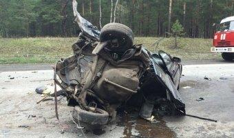 В страшном ДТП на трассе Курган – Омск погибли два человека