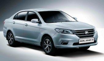 Второе поколение седана Lifan Solano появится в России летом