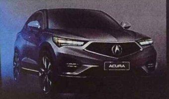 Новый кроссовер Acura рассекретили до премьеры