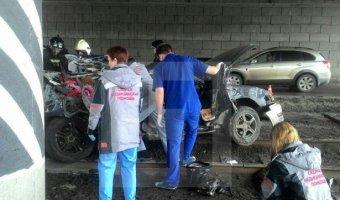 В Омске в ДТП погибли четверо, в том числе маленький ребенок