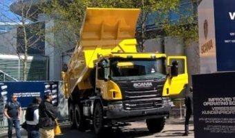 Scania представила строительную и горную технику на выставке BAUMA 2016 в Мюнхене