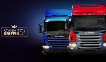 ScaniaGriffin отмечает 15-летие в России
