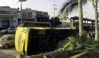 В Мексике по вине водителя в ДТП с автобусом пострадали 50 человек