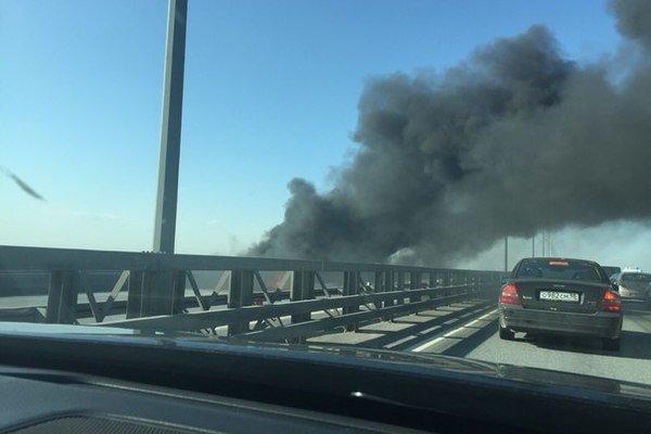 На КАД у Кронштадта выгорел BMW (2).jpg