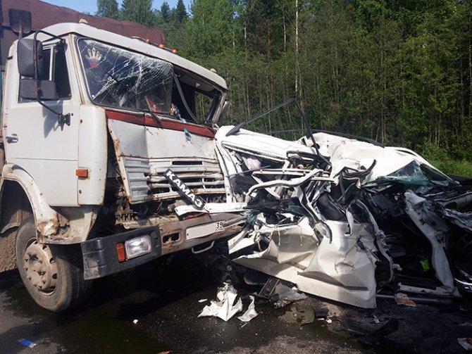 На трассе «Вологда - Новая Ладога» в массовом ДТП погибла женщина (4).jpg