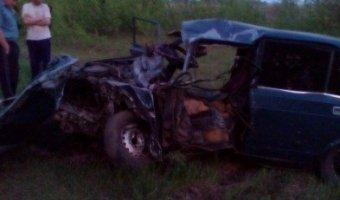 В Арзамасском районе в ДТП погиб водитель ВАЗа
