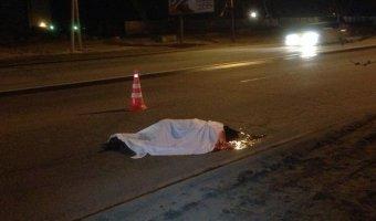На трассе «Челябинск - Троицк» ВАЗ насмерть сбил пешехода