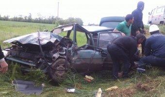 На трассе Самарское-Азов в ДТП пострадали два человека