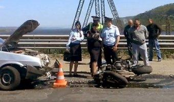 В ДТП на плотине Жигулевской ГЭС погиб мотоциклист