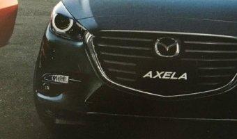 В сети появилось первое изображение Mazda Axela