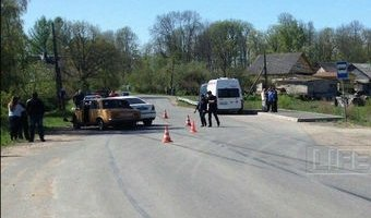 В ДТП с полицейской машиной в Ленобласти погиб человек