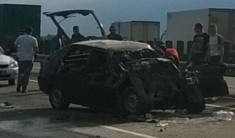 На Кубани в ДТП с КАМАЗом погиб человек
