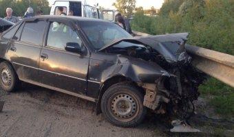 По вине пьяного водителя в Марий Эл пострадали шестеро детей