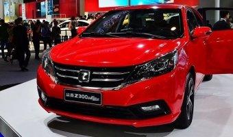 Zotye выпустили новое поколение седана Z300