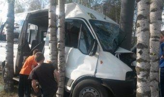 В Йошкар-Оле маршрутка врезалась в столб: погиб 2-летний ребенок