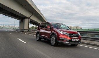 Honda CR-V: автомобили для настоящих ценителей