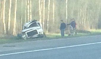 В ДТП на Московском шоссе водитель получил тяжелые травмы