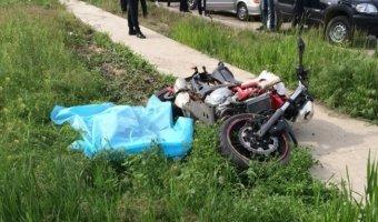 В Волжском насмерть разбился 27-летний мотоциклист
