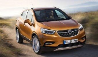 В Европе начались продажи обновленного Opel Mokka X