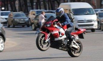 С начала года в Москве произошло почти 70 ДТП с участием мотоцикла