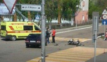 В Башкирии разбился мотоциклист
