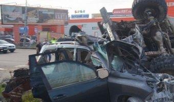 В ДТП с тремя автомобилями в Нижневартовске погиб водитель «Тойоты»