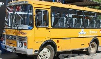 Под Орском столкнулись два автобуса с детьми