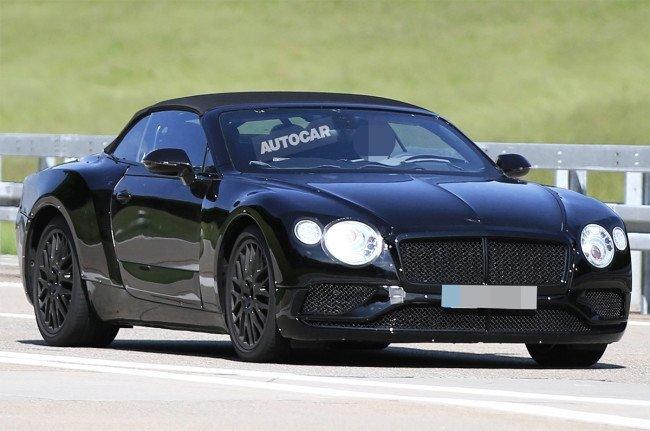 Bentley тестируют новый кабриолет Continental GT (4).jpg