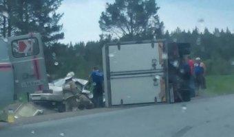 Под Нижними Сергами в ДТП с «Газелью» погиб пассажир легковушки