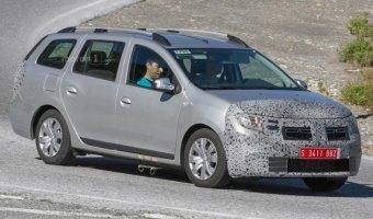 Обновленный седан Dacia Logan замечен на дорожных тестах