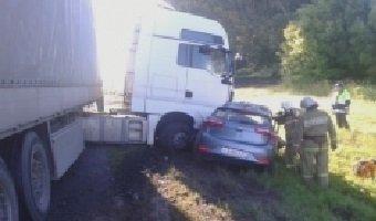 Пять человек погибли в ДТП с грузовиком в Мценском районе