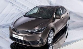 В Москве состоялась премьера новой Toyota Corolla