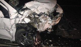 В Отрадненском районе в аварии погиб мужчина и пострадали женщина и ребенок