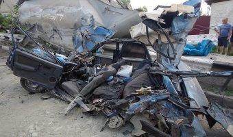 В ДТП с цистерной в Алексеевке погиб ребенок