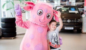 «Фольксваген Центр Подольск» подарил семьям праздничное настроение