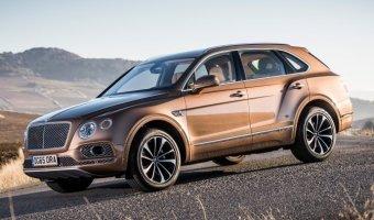 В России с начала года было куплено 34 Bentley Bentayga