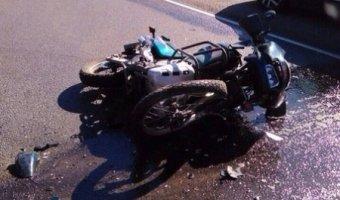 В Гатчинском районе Ленобласти в ДТП погиб мотоциклист