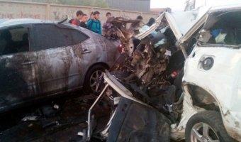 Два человека погибли в ДТП на Маганском тракте