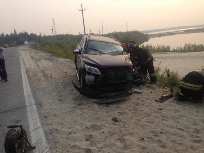 В Новом Уренгое в ДТП с бензовозом погиб человек (2).jpg