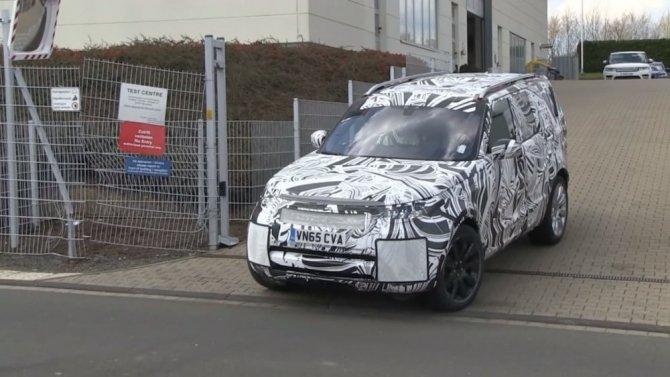 Прототип Land Rover Discovery проходит тесты в Нюрбургринге (1).jpg