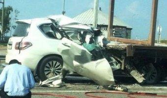 В Татарстане водитель, скрываясь с места ДТП, погубил пассажирку